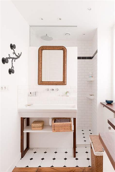 parisian bathroom chic loft in paris featuring a industrial danish design