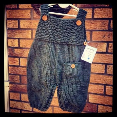 Handmade Knitted Baby Clothes - handmade knitted dungarees baby clothes wollm 228 use mini