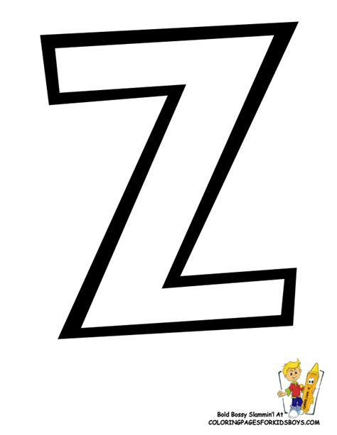 letter z coloring pages preschool letter z coloring pages