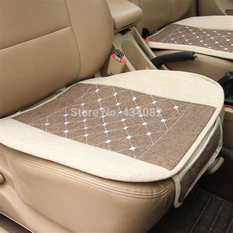 universal bench seat cover 1pcs car covers fiberflax front and back bench seat covers