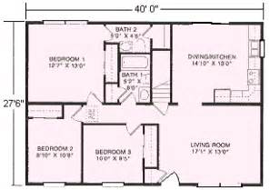 how big is 1100 square ranch floor plans 1 100 to 1 144