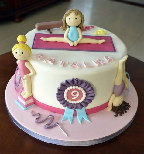 25 best ideas about gymnastics cakes on