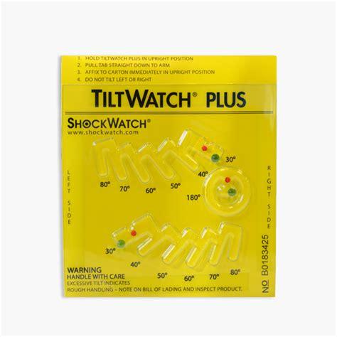 Plus Search By Email Shockwatch Tiltwatch Plus Tilt Indicator Tilt Detector