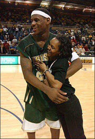 lebron james mom biography about his life lebron james