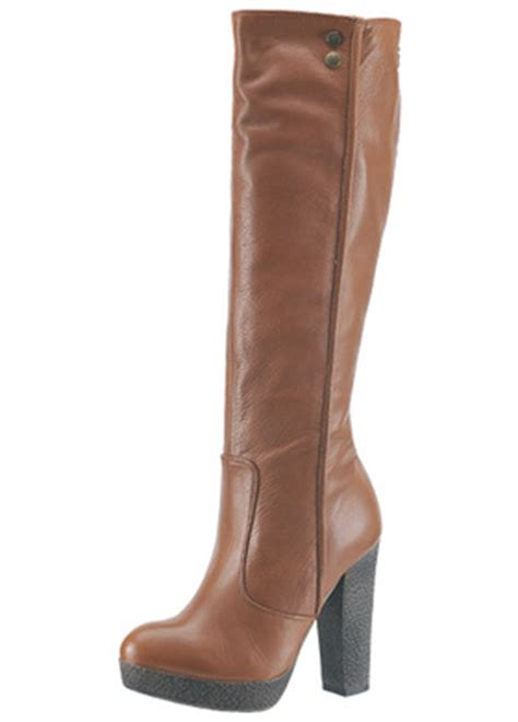 Inspired Boots By Miss Sixty by Boots Miss Sixty Debby Q01642 Cognac Boots Miss