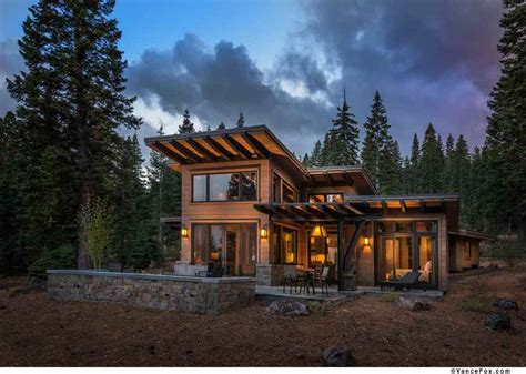 contemporary mountain home plans modern mountain retreat to unwind this winter season