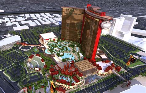 asian themed hotel vegas genting group breaks ground on a china inspired megaresort