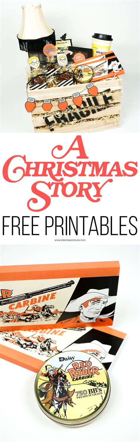 a christmas story free printables printable crush