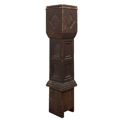 antique newel post l reclaimed antique newel post c 1920s from