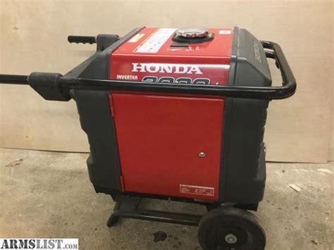 Honda Eu3000is For Sale by Armslist For Sale Trade Honda Eu3000is Generator
