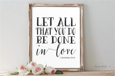 let all that you do be done in love tattoo 1 corinthians 16 14 let all that you do be done in