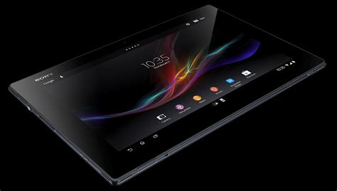Tablet Xperia sony xperia tablet z 4g ready available at vodafone uk
