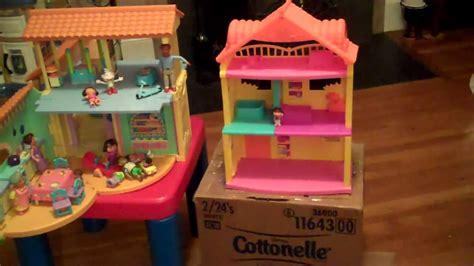dora talking doll house dora s talking house vs dora explore play dollhouse review youtube