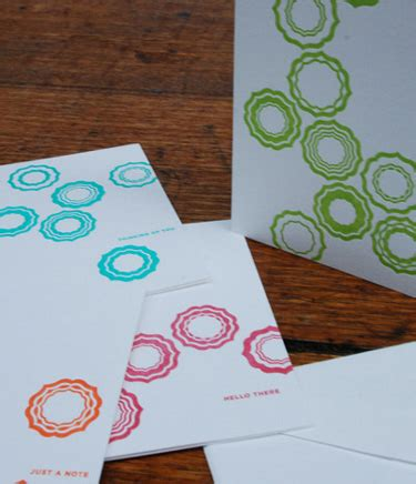 Hello Card Pack Isi 4 notemaker desire to inspire desiretoinspire net