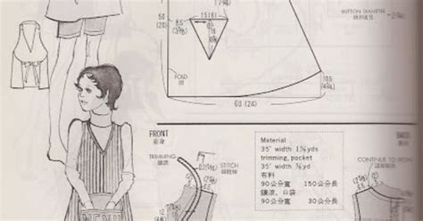 pattern drafting kamakura shobo vintage aprons from the kamakura shobo publishing co