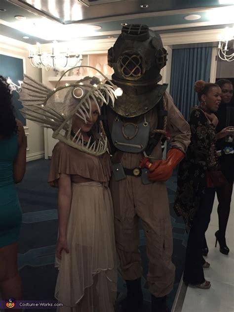 deep sea diver  angler fish costume photo