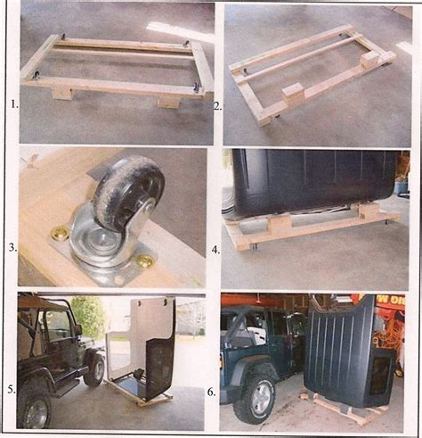 can you take a hardtop a jeep do it yourself hardtop dolly jeeps canada jeep forums