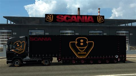 mod untuk game ets2 scania special v8 pack v 3 1 game 1 25 ets2 mods