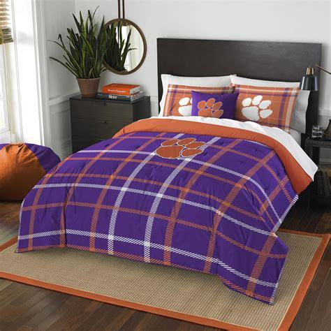 kmart bed comforters ncaa bedding set clemson university kmart