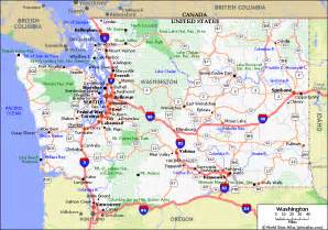 washington map states i ve visited