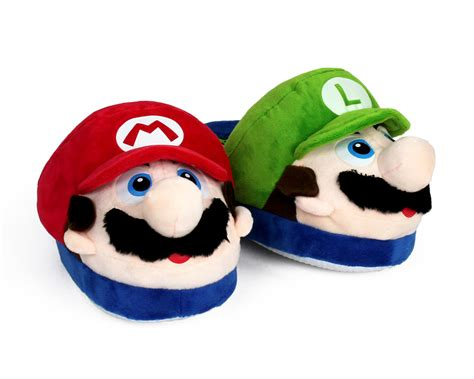 mario brothers slippers mario and luigi slippers mario brothers slippers