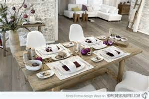 Food Decorations 20 Christmas Table Setting Design Ideas Home Design Lover