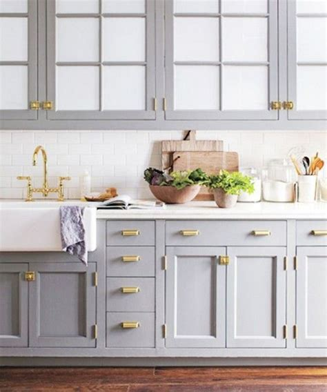 grey cabinets gold hardware kitchen trends for 2015 love everything the color of the