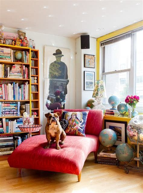 bright dash of wall color in an eclectic living room best 25 eclectic decor ideas on pinterest eclectic