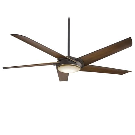 minka aire ceiling fan with light minka aire f617l orb ab raptor 1 led light 60 inch ceiling