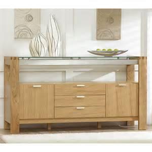 modern sideboard furniture arturo modern solid oak with glass sideboard 13409