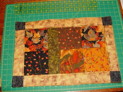 Quilting Placemat Patterns by Sew Free Charm Placemat Pattern