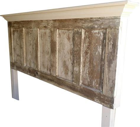 five panel door headboard king size 5 panel vintage door headboard distressed
