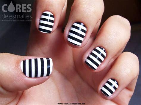 imagenes de uñas blancas y negras decoraci 243 n de u 241 as negras y blancas decoraci 243 n de u 241 as
