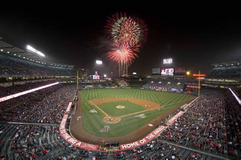 Angel Stadium Giveaways - mlb angels on a high heading into fourth of july game the inside word the inside word