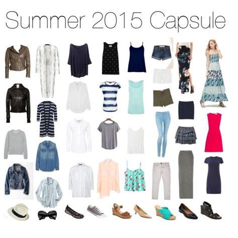 Summer Capsule Wardrobe by Summer 2015 Capsule Wardrobe Get Into Closet