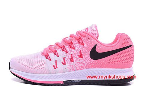 Original Nike Air Zoom Pegasus 33 original nike air zoom pegasus 33 pink white black logo