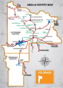 local maps gunnison san luis and arkansas river valley