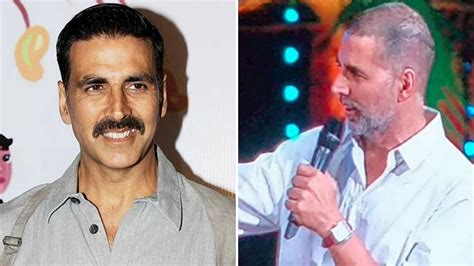 akshay kumar hair transplant is akshay kumar fine his hairless appearance at zee cine