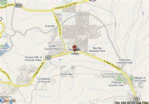 arizona map prescott map of days inn prescott valley prescott valley