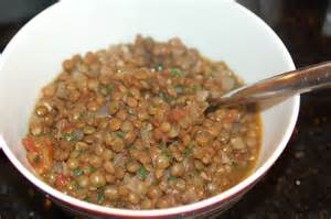 mexican style lentils with garden tomatoes chiles