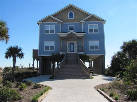 Folly Rental Houses Ocean Front Beach House Folly Beach Homeaway Folly
