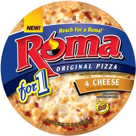 Roma Original 1 roma for 1 original 4 cheese pizza 5 26oz walmart