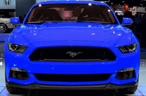 blue car paint colors 2015 ford mustang gt custom colors