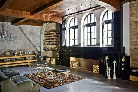 lofts design loft industriel au design int 233 rieur bien 233 clectique 224