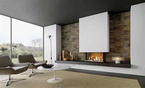 imagenes de chimeneas minimalistas chimeneas modernas en salones acogedores y amenos