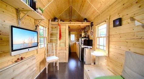 tiny houses on wheels interior tiny houses austin texas tired of paying rent why not build your own tiny solar
