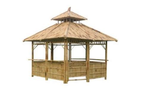 pavillon bambus pavillon aus bambus inkl fensterb 228 nke 3 6x3 6x3 5m