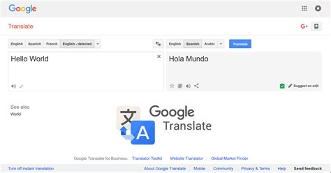 translation to translate