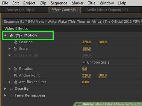 adobe premiere pro rotate video how to rotate video clip in premiere pro gallery how to