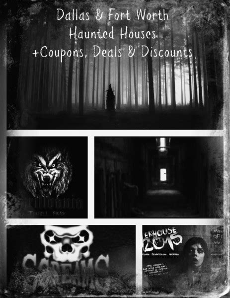 haunted houses in dallas dallas fort worth haunted houses coupons discounts deals my dallas mommy